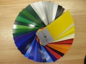 PVC kleurenkaart
